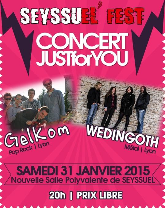 Concert 31 janvier